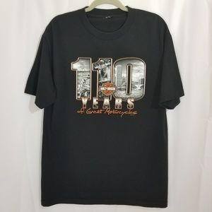 Harley-Davidson Shirts - Harley Davidson 110th Anniversary 2013 T Shirt
